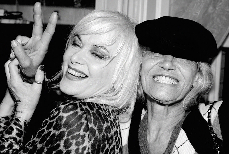 Anita Pallenberg & Friend
