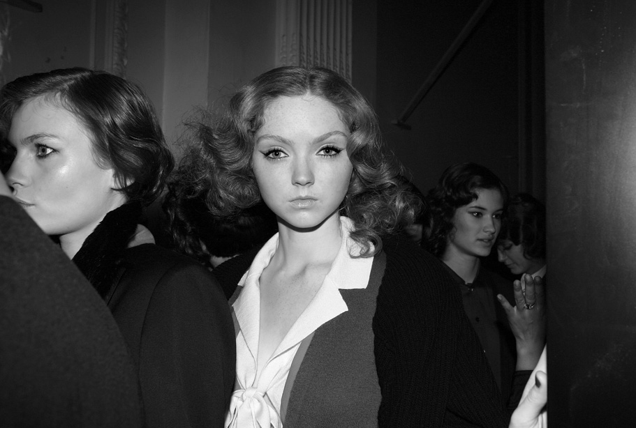 Lili Cole Backstage LFW